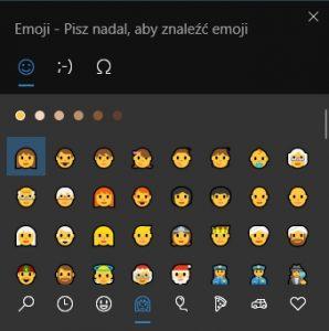 panel emoji windows 10
